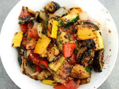 Жареные овощи гриль аля Рататуй — просто и вкусно на каждый день