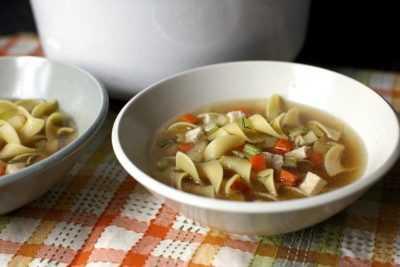 Куриный суп с лапшой и сельдереем — просто и вкусно на каждый день
