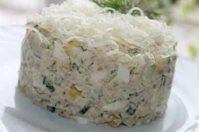 Салат из семги с огурцом- просто и вкусно на каждый день