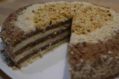Торт Мишка сметанный — просто и вкусно на каждый день
