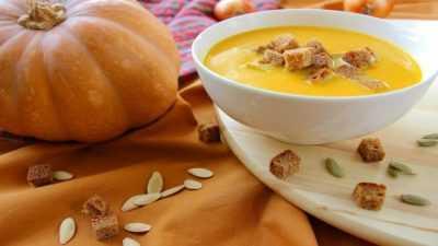 Суп из тыквы с сыром — просто и вкусно на каждый день