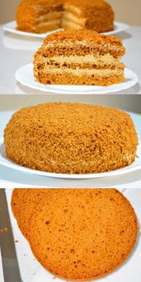 Торт сметанный Королевский — просто и вкусно на каждый день