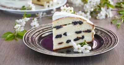 Торт Сметанный (2-а варианта)- просто и вкусно на каждый день