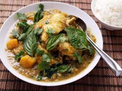 Курица по тайски с баклажанами в мультиварке — просто и вкусно на каждый день