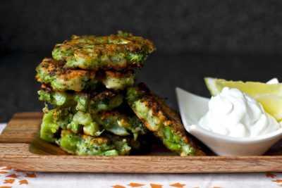Оладьи с сыром и цветной капустой на закуску — просто и вкусно