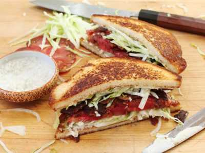 Рецепт сэндвич с беконом — легкий домашний рецепт