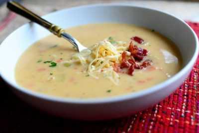 Суп в мультиварке с картофелем и беконом — просто и вкусно на каждый день