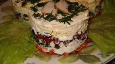 Салат с копченой курицей и сыром — просто и вкусно на каждый день