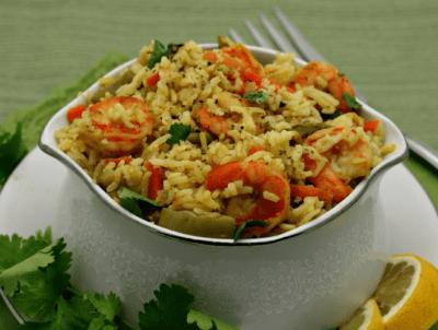 Вкусный рис с креветками в мультиварке — просто и вкусно на каждый день