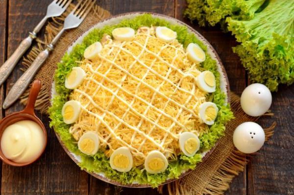 """Салат """"Богатый маркиз"""" - просто,вкусно - фоторецепт пошагово"""