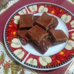 ПП Диетический шоколад с орешками - пошаговый рецепт с фото - Полезный рецепт