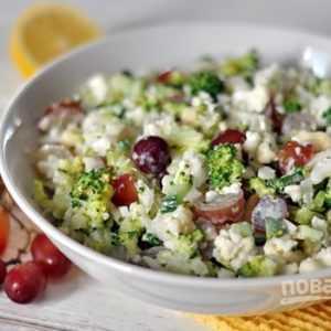 ПП Хрустящий салат с брокколи - пошаговый рецепт с фото - Полезный рецепт