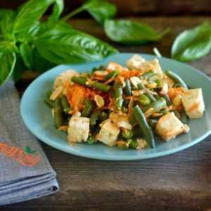 ПП Салат из тофу - пошаговый рецепт с фото - Полезный рецепт