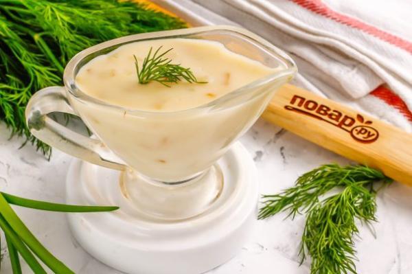 Сливочный соус без сливок - просто,вкусно - фоторецепт пошагово