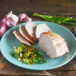 ПП Свинина с апельсином и петрушкой - пошаговый рецепт с фото - Полезный рецепт