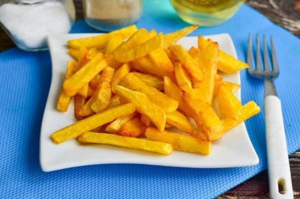 Картошка фри как в Макдональдсе - просто,вкусно - фоторецепт пошагово