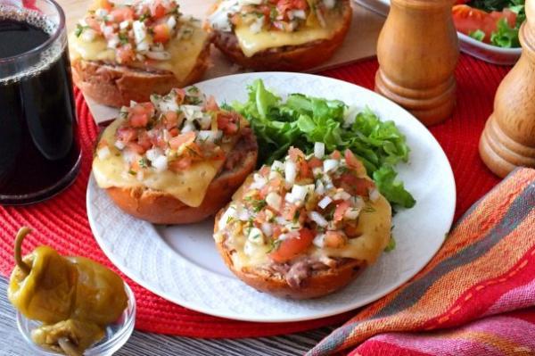Мексиканские бутерброды - просто,вкусно - фоторецепт пошагово