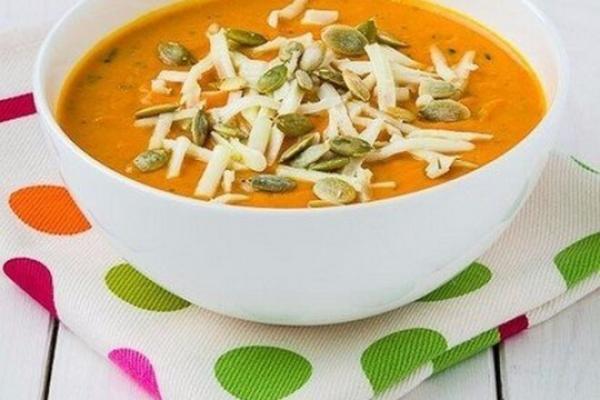 Сливочный крем-суп из запеченной тыквы с чесноком, рецепт с фото - просто,вкусно - фоторецепт пошагово