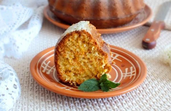 Бразильский морковный кекс - просто,вкусно - фоторецепт пошагово