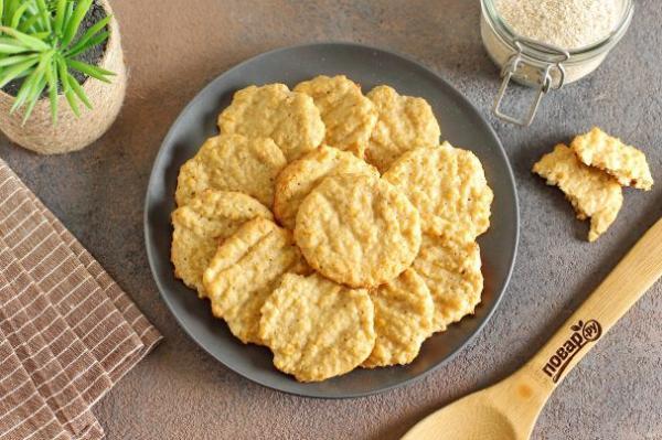 Низкокалорийное печенье - просто,вкусно - фоторецепт пошагово