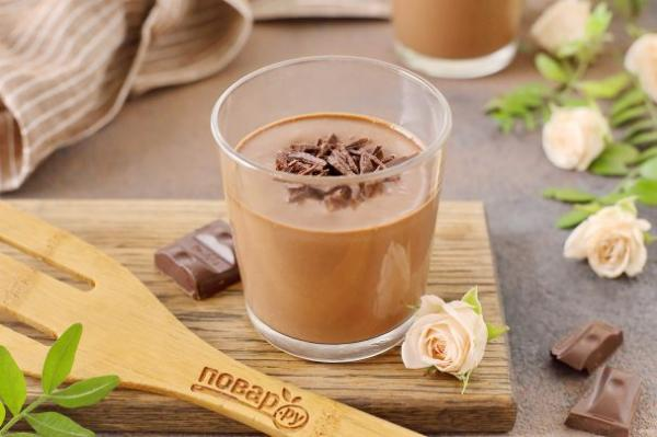 Шоколадно-банановый мусс - просто,вкусно - фоторецепт пошагово